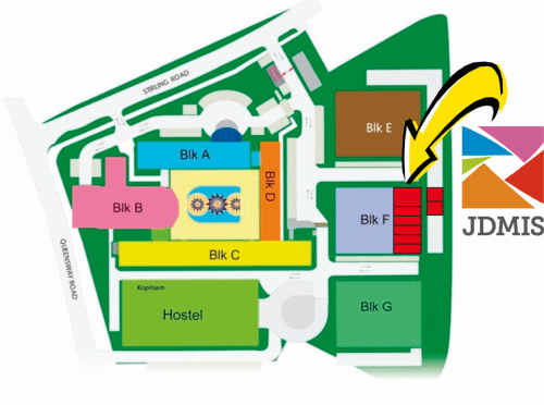 JDMIS Location within MDIS Campus